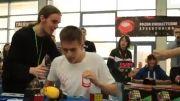 رکورد جدید چشم بسته جهان 23.80 Marcin Zalewski