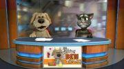 سخرانی خنده دار سگ سخنگو و گربه ی سخنگو قسمت ۱