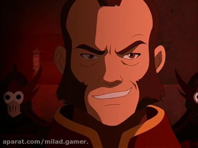 سریال کارتونی (آواتار Avatar) فصل 1 قسمت 8 پارت اخر