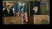 شوخی معنادار اوباما با همسر نتانیاهو