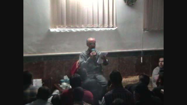 شجاعت حضرت مسلم علیه السلام  حاج ابراهیم کاظمی