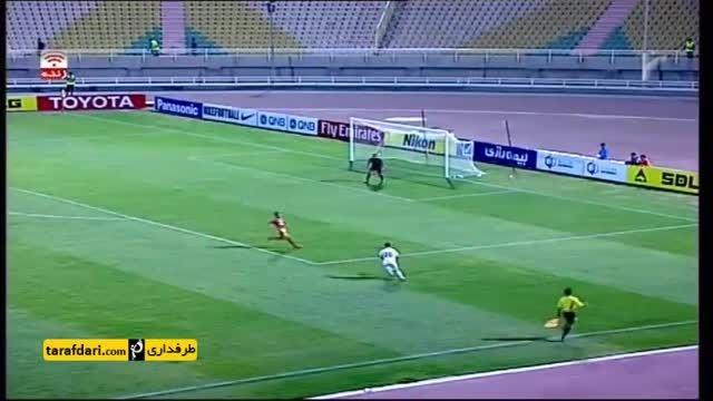خلاصه بازی فولاد خوزستان 1-0 لوکوموتیو تاشکند