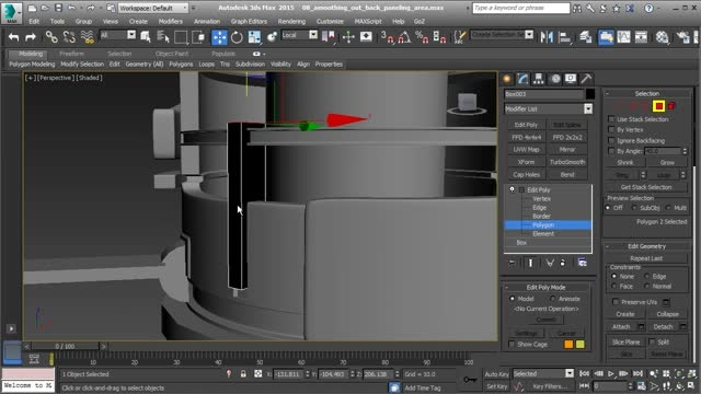 Modeling a Hard Surface Sci-Fi Asset in 3ds Max