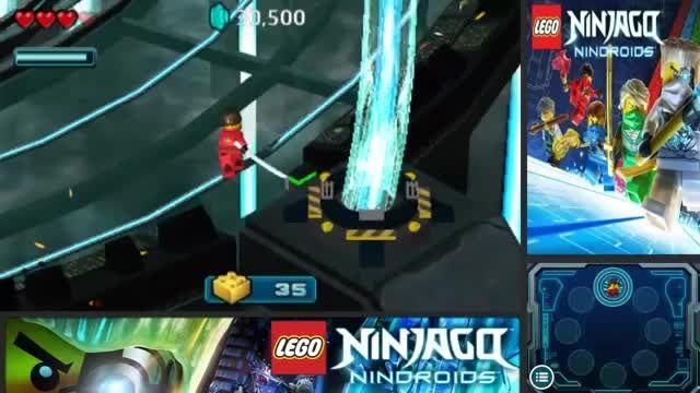گیم پلی بازی لگو نینجاگو ربات های نینجا-پارت7