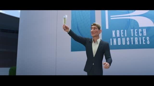 دوبله ی من از Krei و Callaghan در انیمیشن 6 ابر قهرمان