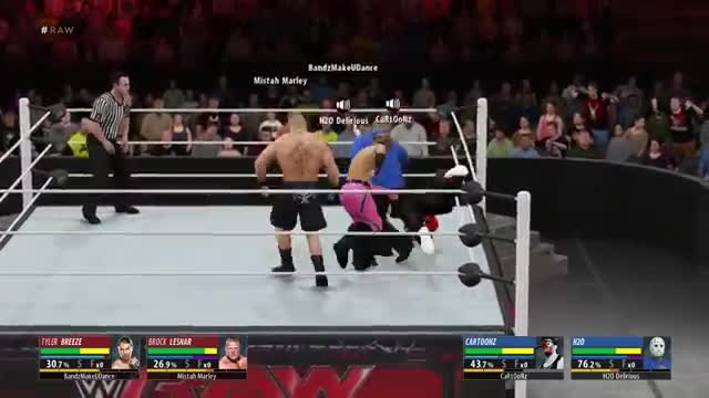 Cartoonz play wwe 2k16