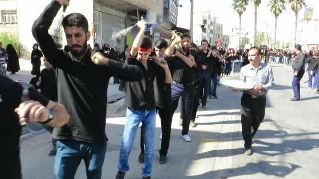محله الغدیر جهرم - عزاداری عاشورای 94