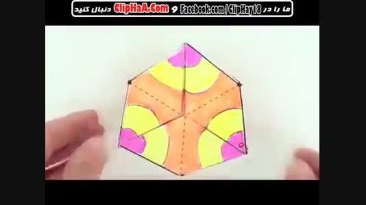 آموزش ساخت اسباب بازی کاغذی