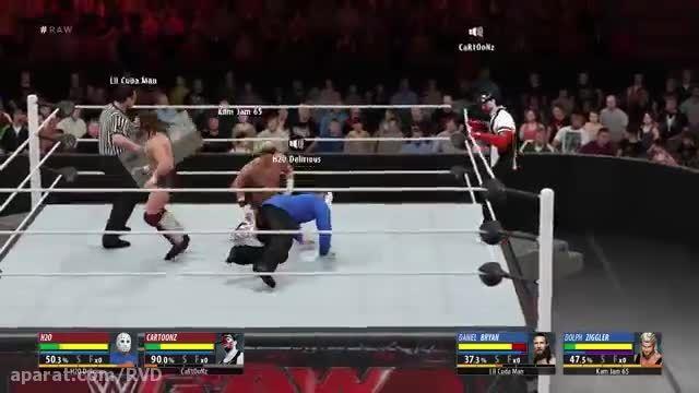 H2O DELIRIOUS WWE2K16 EP.2