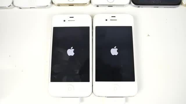 مقایسه سرعت IOS 9 با IOS 8