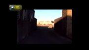 صحنه انفجار اتوبوس حامل پرسنل سپاه توسط جند الشیطان
