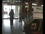 لحظه زلزله در تبریز از دوربین پاساژ گلدیس