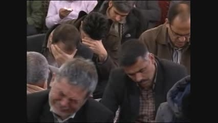 قرائت دعای ندبه و روضه حاج حسین ساجدی سال ۹۳-بخش اول