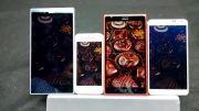 مقایسه صفحه نمایش لومیا 1520 با آیفون 5s و Z Ultra و Note3