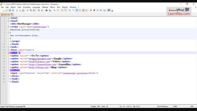 فیلم آموزش چند ابزار کاربردی وب با جاوا اسکریپت - بخش 1