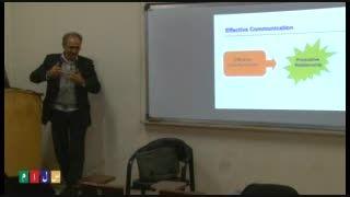 کلاس آموزشی روش های ارتباط مؤثر دکتر ابوالقاسمی بخش دوم