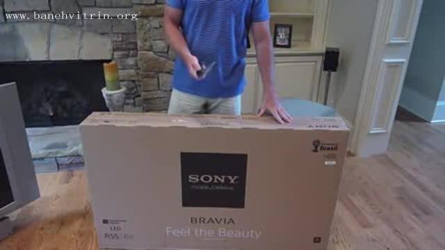 تلویزیون ال ای دی سه بعدی فول اچ دی اسمارت سونی R550
