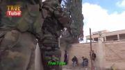 هدشات تمیز تروریست تکفیری توسط تک تیرانداز ارتش سوریه