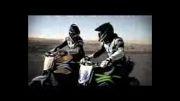 تعقیب و گریز (دریفت) موتورسیکلت ها و خودرو پلیس