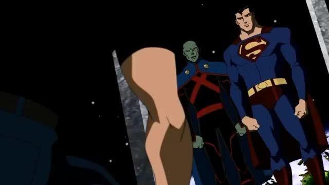 YJ  - superboy and robin vs. batman and superman