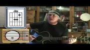 آموزش آهنگ هللویا برای گیتار (فینگر پیکینگ) Hallelujah - Leo