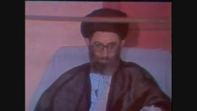 سخنان امام خمینی (ره) در مورد ایت الله خامنه ای