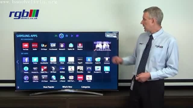 تلویزیون ال ای دی سه بعدی اسمارت سامسونگH8000