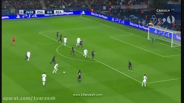 پاری سن ژرمن 0-0 رئال مادرید