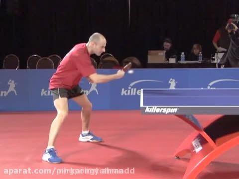 آموزش پینگ پنگ ، بک هند بلوک در تنیس روی میز