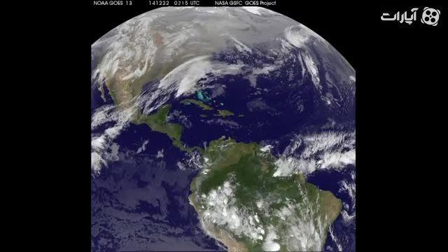 تغییرات آب و هوا از فضا