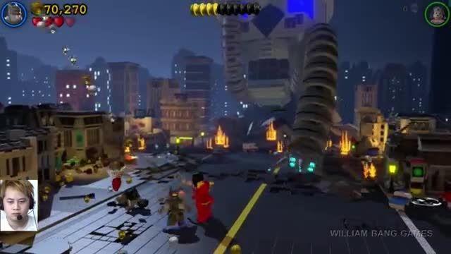 Lego batman 3 : part 10 - batman flash wonder woman vs