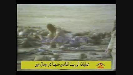 شهدا در میدان مین