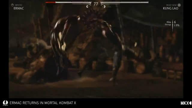 ایکس ری و فیتالیتی کونگ لائو در Mortal Kombat X