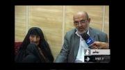پیرترین پیرزن ایران كه هم روزه می گیرد و هم خادم حسینیه است