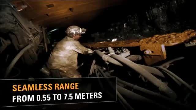 ماشن آلات استخراج معدن در روش جبهه کار بلند