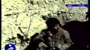 فیلم واقعی از فرار سربازان عراقی و خونسردی سربازان ایرانی!!!