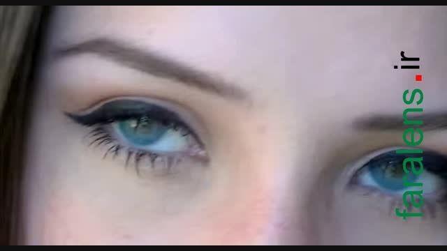لنز رنگی سولوتیکا هیدروکور Solotica | Azul