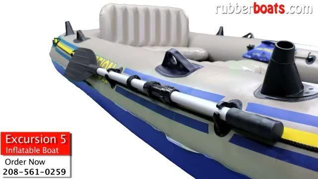 معرفی قایق بادی 5 نفره اینتکس (INTEX Excursion 5)