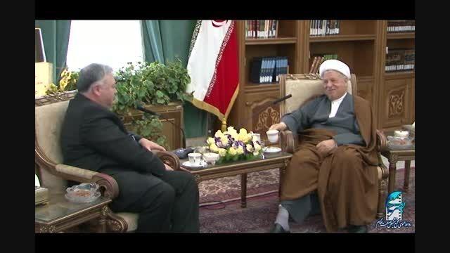 دیدار سفیر ازبکستان در جمهوری اسلامی با آیت الله هاشمی