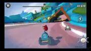 گیم پلی بازی Angry Birds Go