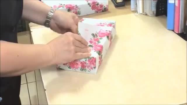 کادو کردن هدیه در 15 ثانیه - www.1ideh.ir