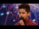 حضور یک ایرانی نابغه 12 ساله در Britains got talent 2009