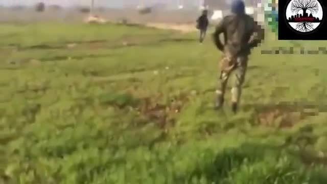ترکیدن فیلمبردار + 3 تروریست توسط جنگنده