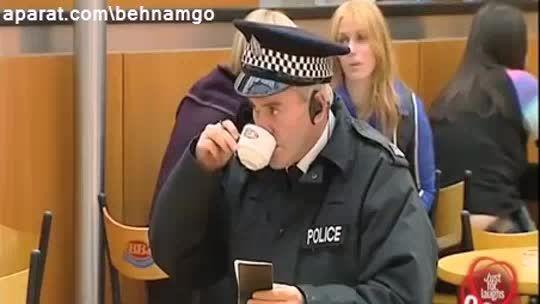دوربین مخفی شوخی عجیب با پلیس :))