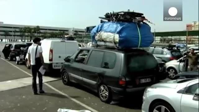 مرگ یک مهاجر غیرقانونی در چمدان