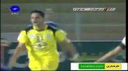 گل های بازی استقلال اهواز 1 - 2 نفت تهران