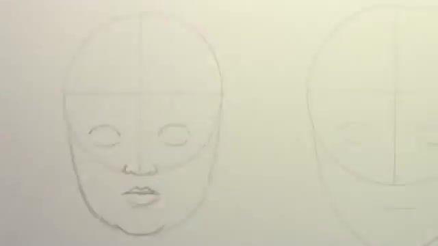 آموزش طراحی چهره کودک و نوجوان و بزرگسال (بانوان)