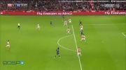 آرسنال1-2منچستر یونایتد-گل های بازی(لیگ برتر انگلیس)