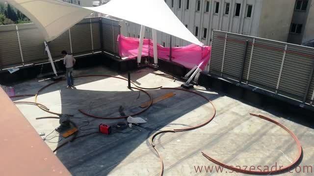 ساخت روف گاردن در 74 روز (Roof Garden in 74 Days)