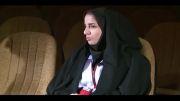 فیلم مصاحبه با خانم زایر از اعضای فعال هلال احمر استان زنجان